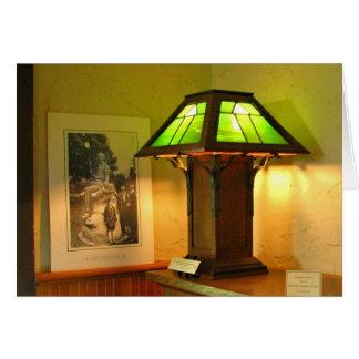 Antique Lamp Card