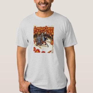 antique Land of  Oz Tin Woodman Scarecrow Shirt