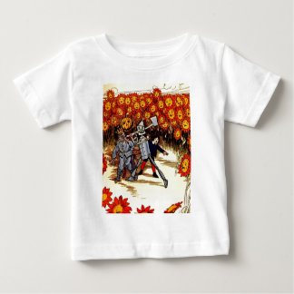 antique Land of  Oz Tin Woodman Scarecrow T Shirt