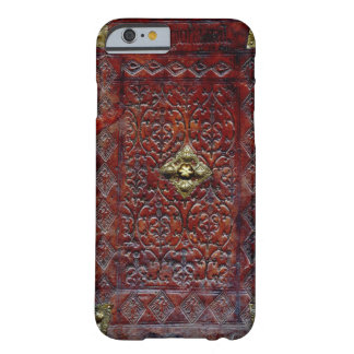 Antique Leather Book Bibliophile Barely There iPhone 6 Case