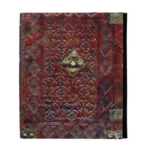 Antique Leather Book Bibliophile iPad Folio Covers