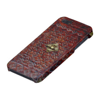 Antique Leather Book Bibliophile Case For iPhone SE/5/5s