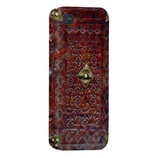 Antique Leather Book Bibliophile Cases For iPhone 4