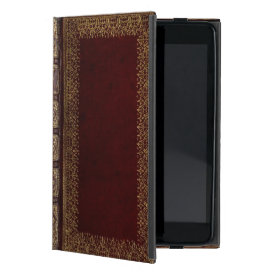 Antique Leather Book Bibliophile iPad Mini Cases