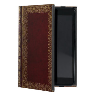 Antique Leather Book Bibliophile iPad Mini Covers