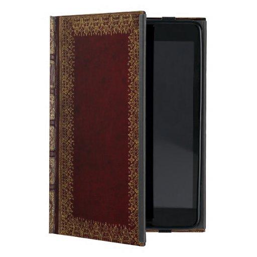 Classic Book Cover Ipad Mini : Antique leather book bibliophile ipad mini covers zazzle