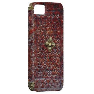 Antique Leather Book Bibliophile iPhone SE/5/5s Case
