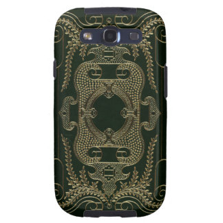 Antique Leather Book binding Samsung Galaxy SIII Cases