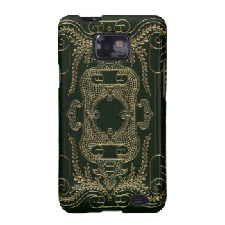Antique Leather Book binding Samsung Galaxy SII Covers