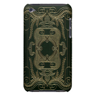 Antique Leather Book binding Barely There iPod Cover