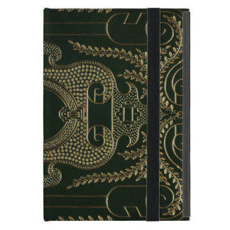 Antique Leather Book binding Case For iPad Mini