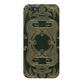 Antique Leather Book binding Covers For iPhone 5