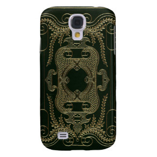 Antique Leather Book binding Galaxy S4 Covers