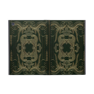 Antique Leather Book binding iPad Mini Case