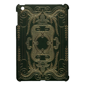Antique Leather Book binding Case For The iPad Mini