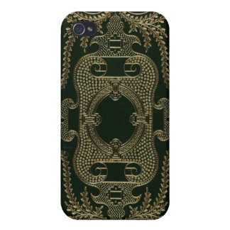 Antique Leather Book binding iPhone 4/4S Case