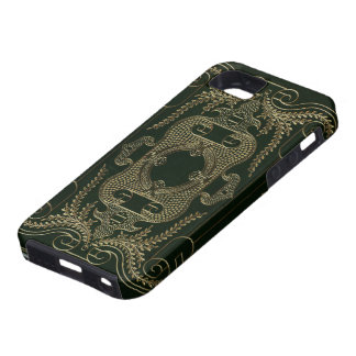 Antique Leather Book binding iPhone 5 Case