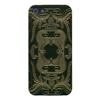 Antique Leather Book binding iPhone 5 Cases