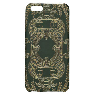 Antique Leather Book binding iPhone 5C Cover