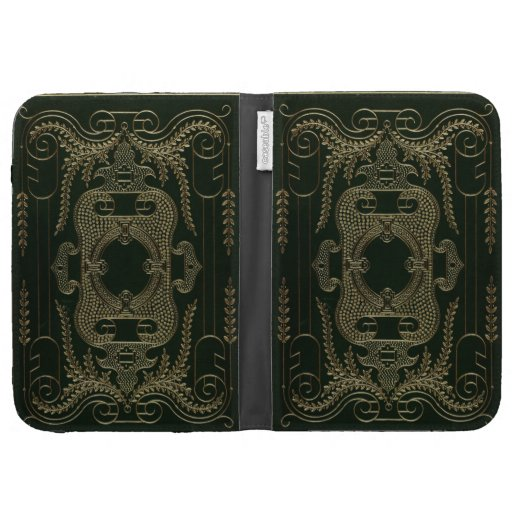 Old Book Kindle Case : Antique leather book binding kindle g cases zazzle