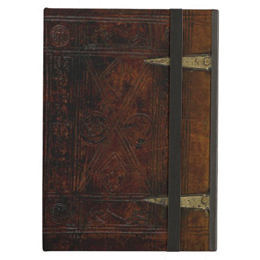 Old Book Cover Ipad : Antique leather bound engraved book cover ipad air case