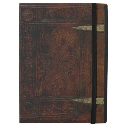 Old Book Cover Ipad : Antique leather bound engraved book cover ipad pro case