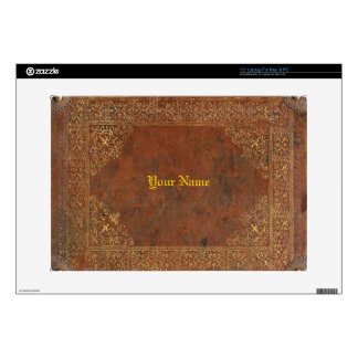 """Antique Leather look 15"""" Laptop Skins"""