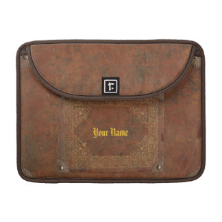 Antique Leather look Sleeves For MacBooks