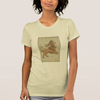 Antique LEO Constellation Map Astronomy Design Tshirts