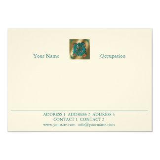Antique Letter Q - Correspondence Card