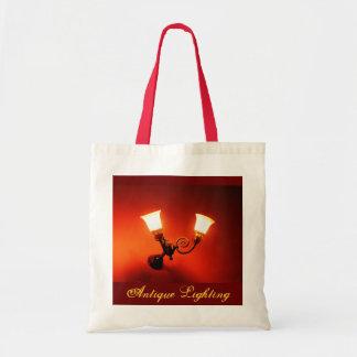 Antique Lighting Budget Tote Bag