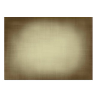 Antique Linen Look Texture Large Business Card