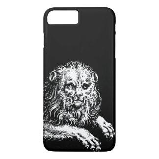 Antique Lion Engraving iPhone 8 Plus/7 Plus Case