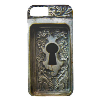 antique lock iphone iPhone 7 case