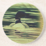 Antique Look Loon on The Water Coaster