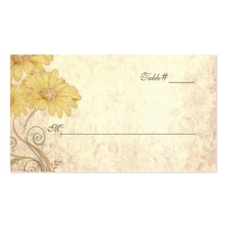 Antique Look Wedding Escort Place Cards Double-Sided Standard Business Cards (Pack Of 100)