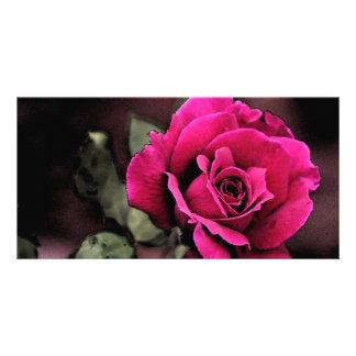 Antique Love Rose Card
