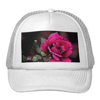 Antique Love Rose Mesh Hats