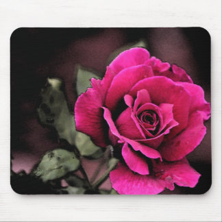 Antique Love Rose Mouse Pad