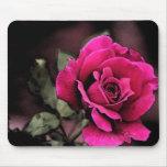 Antique Love Rose Mousemats