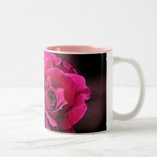 Antique Love Rose Two-Tone Coffee Mug
