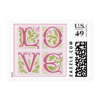 Antique Love stamps
