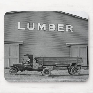 Antique Lumber Truck, 1920s Mouse Pad