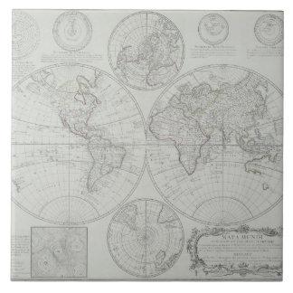 Antique Map 2 Tile