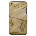 Antique map barely there iPod covers