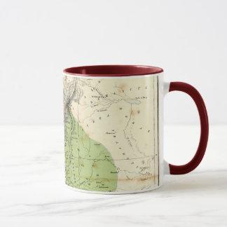 Antique Map - Biblical Palestine Mug