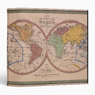 Antique Map Binder