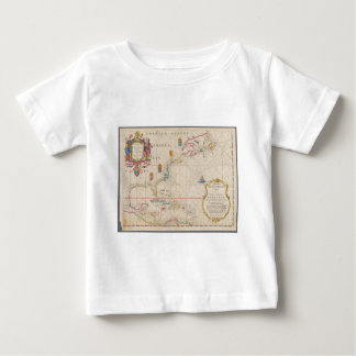 Antique Map Infant T-shirt