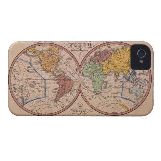 Antique Map iPhone 4 Case