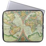 Antique Map laptop case Computer Sleeve